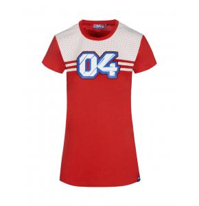T-shirt femme Andrea Dovizioso - Effet perforé