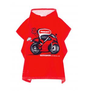Toalla poncho Ducati Corse - niño
