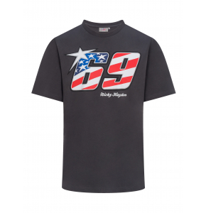 Nicky Hayden t-shirt - American flag