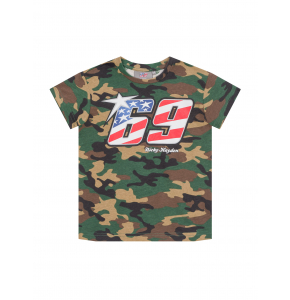 Nicky Hayden Kids T-shirt - Camo