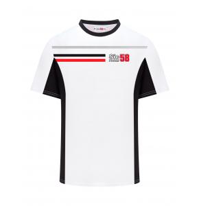 Camiseta Sic58 Squadra Corse - Blanca
