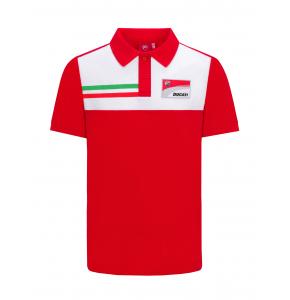Ducati Corse polo shirt - Italian flag