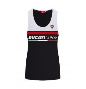 Top mujer Ducati Corse - Bicolor