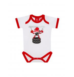 Baby Romper Ducati Corse - White