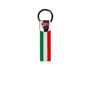 Keyring Ducati Corsa -Tricolor