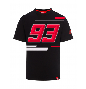 T-shirt Marc Marquez - 93 noir
