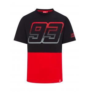Camiseta Marc Marquez - Negro y rojo