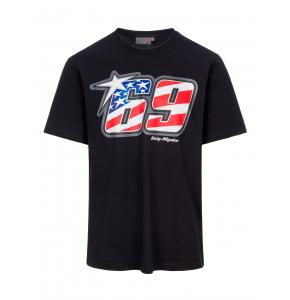 T-shirt Nicky Hayden - 69 American Flag