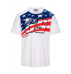 Camiseta Nicky Hayden - Flag 69 Legend