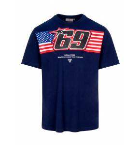 Camiseta Nicky Hayden - American Flag 69