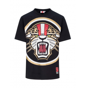 T-shirt Sic58 Black Jaguar