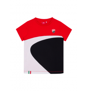 Kid T-shirt Ducati Corse - Mini logo