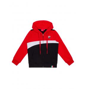 Kid Zipped Sweatshirt Ducati Corse