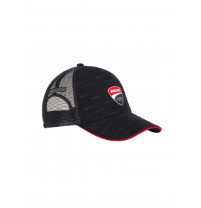 Cappellino Ducati Corse All Over Trucker