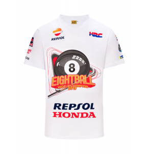"T-shirt Marc Marquez ""Eightball"" - MotoGP World Champion 2019"