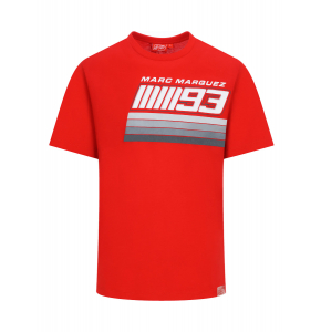 Camiseta Marc Marquez MM93 Stripes