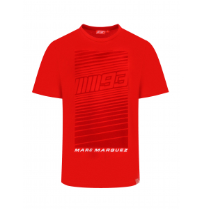 T-shirt Marc Marquez 93 - Red Flock