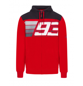 Felpa con zip Marc Marquez - 93 Stripes