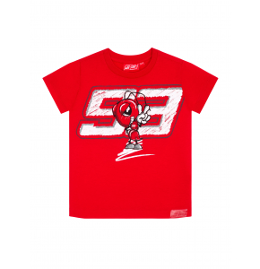 Camiseta infantil Marc Marquez - Drawing Big Ant93