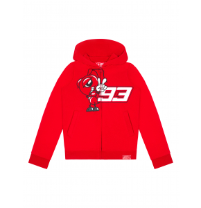 Zip hoodie for kids Marc Marquez - Big Ant93