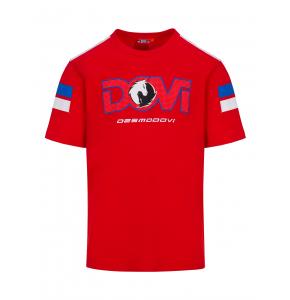 T-shirt Andrea Dovizioso - Desmodovi Red