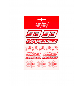 Stickers Marc Marquez - Red Edition