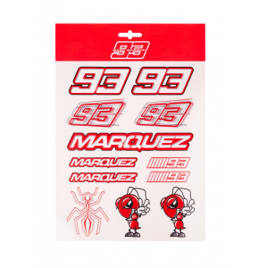 Grands autocollants Marc Marquez - Red Edition