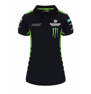 Polo shirt Kawasaki Racing Team - KX Motocross women's