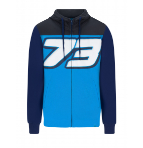 Sweat Zippé à Gros Logo - Alex Marquez