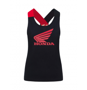 Tank-top Woman Honda HRC - Black