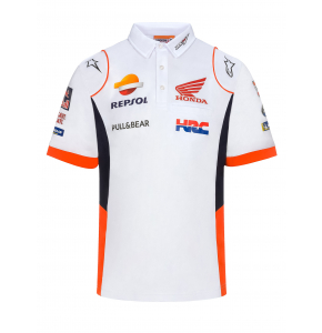 Polo White Repsol Honda - Vêtements Replica 2020