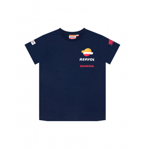 Repsol Honda kid's t-shirt - Blue