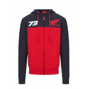 Dual Honda HRC Zip Sweatshirt - Alex Marquez
