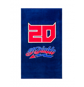 Beach towel plage Fabio Quartararo