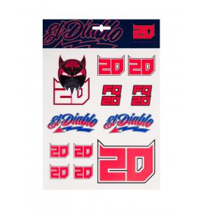 Fabio Quartararo Stickers - El Diablo 20