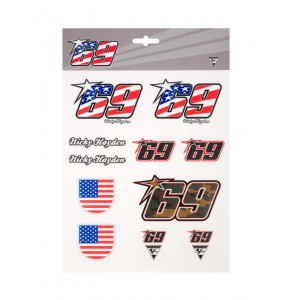 Stickers - Nicky Hayden 69
