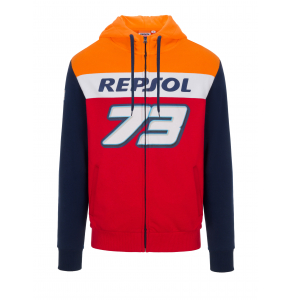 Felpa con cappuccio Dual Repsol Honda - Alex Marquez 73