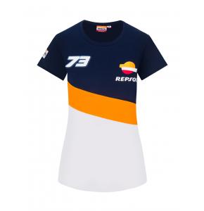 T-shirt Repsol Honda Dual Alex Marquez pour femme - 73