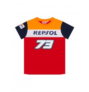 T-shirt bambino Repsol Honda Dual Alex Marquez - 73