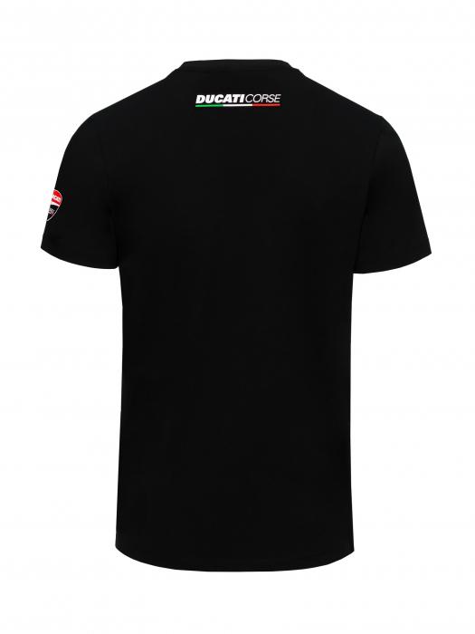 T-shirt Ducati Corse - logo rouge