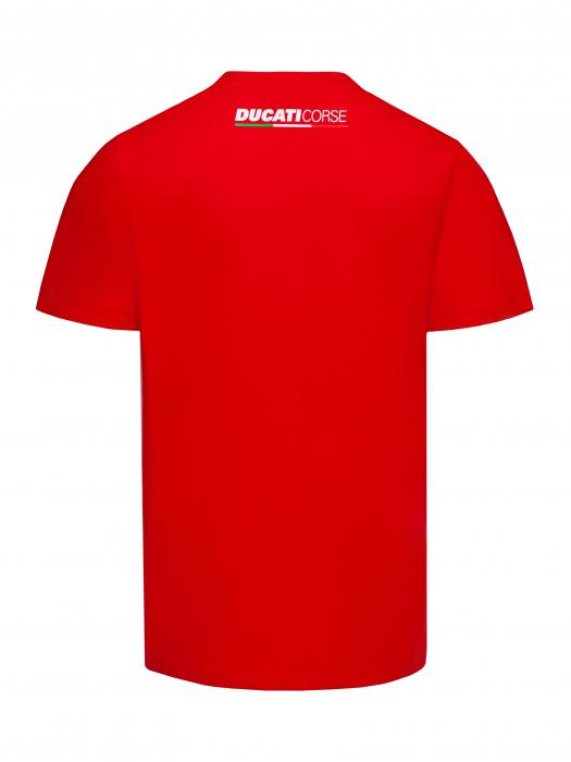 Ducati Flag Australia Australia manga corta t-shirt gris azul nuevo!!!