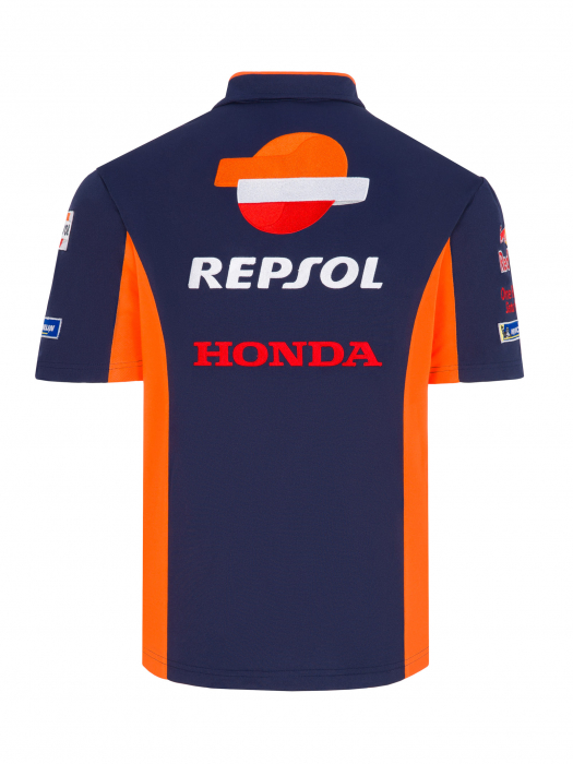 Polo hombre azul Team Repsol Honda Replica