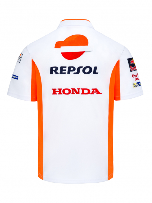 Repsol Honda Replica Team Men's Polo Shirt
