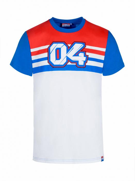 T-shirt Andrea Dovizioso - Blu