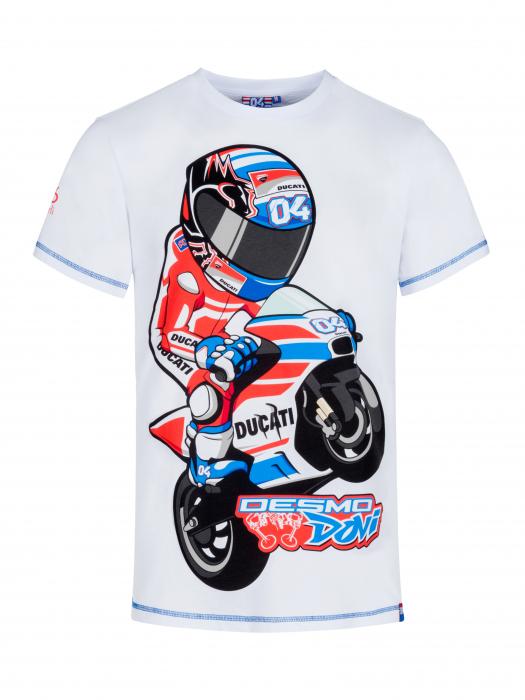 T-shirt Andrea Dovizioso - Cartoon