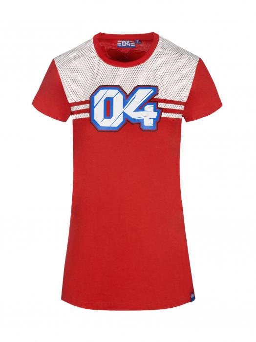 Camiseta de mujer Andrea Dovizioso - Efecto perforado