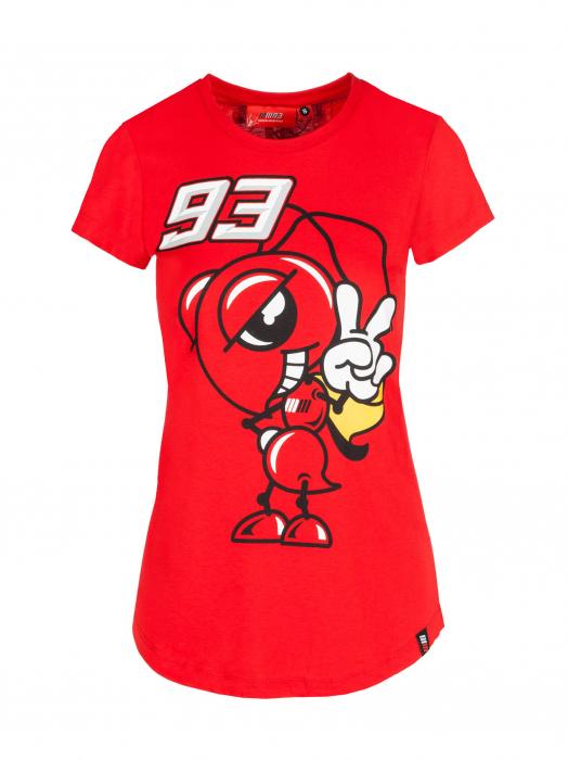 T-shirt da donna Marc Marquez - Formica 93