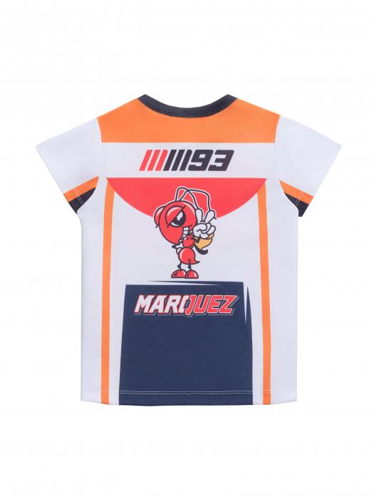 HONDA Repsol Moto GP Team Marquez Pedrosa Ni/ños Camiseta Oficial 2018