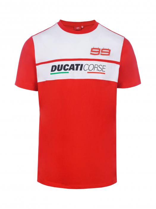 T-shirt Jorge Lorenzo - Ducati Dual