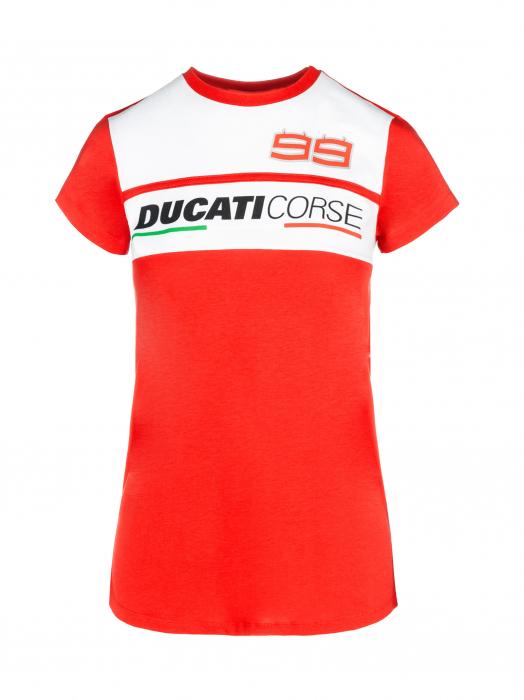 T-shirt da donna Jorge Lorenzo - Ducati Dual